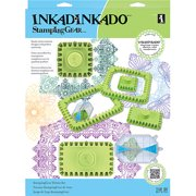 Inkadinkado Stamping Gear Deluxe Set, Square & Rectangle
