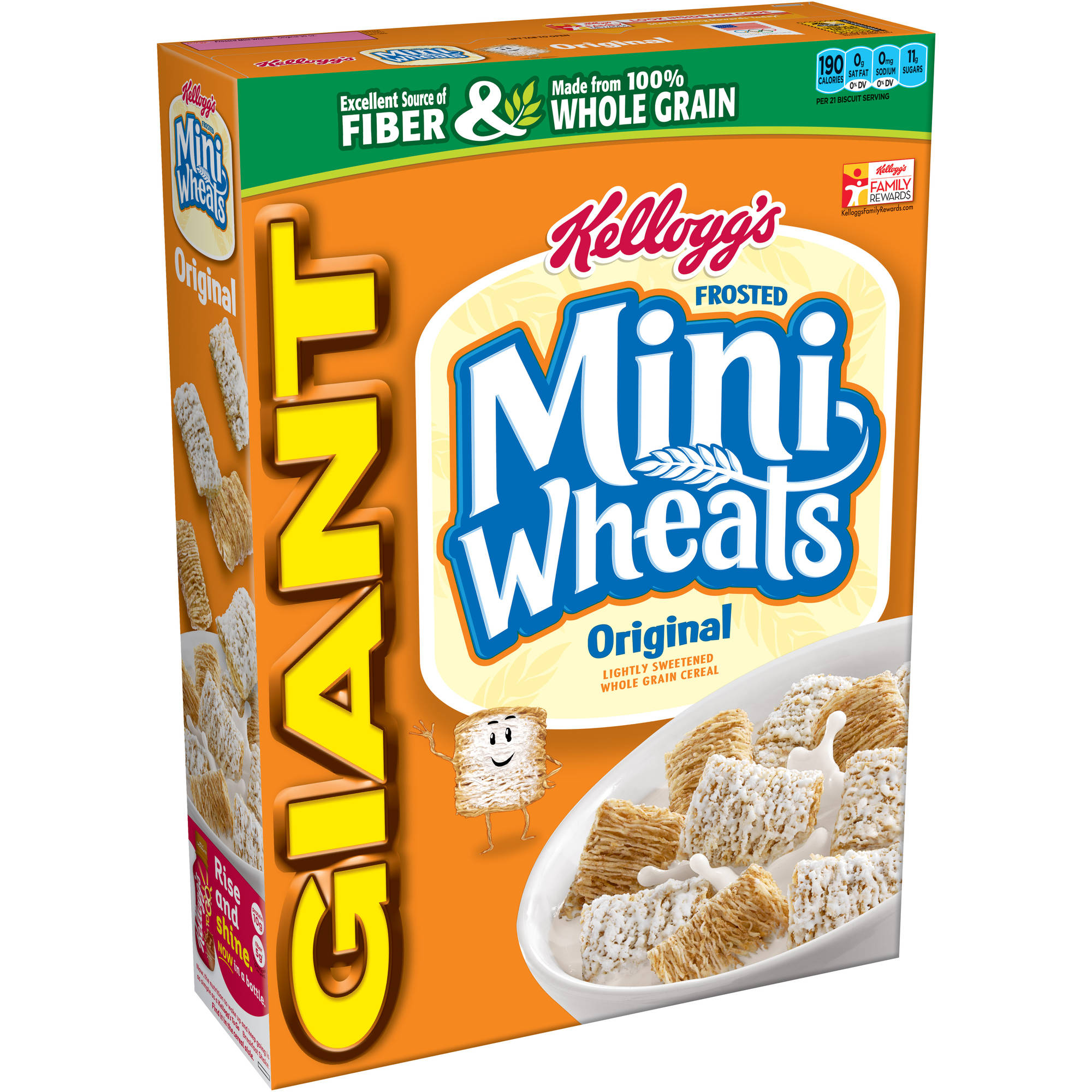 Kellogg's Original Frosted Mini Wheats Cereal, 36 oz