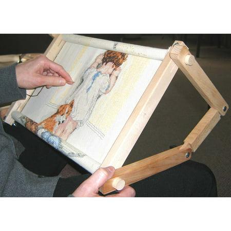 Frank Edmunds & Co. Stitch n' Scroll Flexible Lap or Table Frame - Original Lap Frame