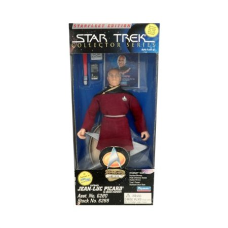 Starfleet Edition Star Trek Collector Series 9 Inch Captain Jean Luc Picard in Dress Uniform](Star Trek Dress Uniform)