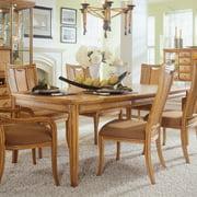 American Drew Antigua Leg Table in Toasted Almond