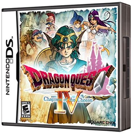 Dragon Quest IV: Chapters of the Chosen - Nintendo DS, Embark on a journey to explore the land, seas and skies of the DRAGON QUEST universe in this grand.., By Square
