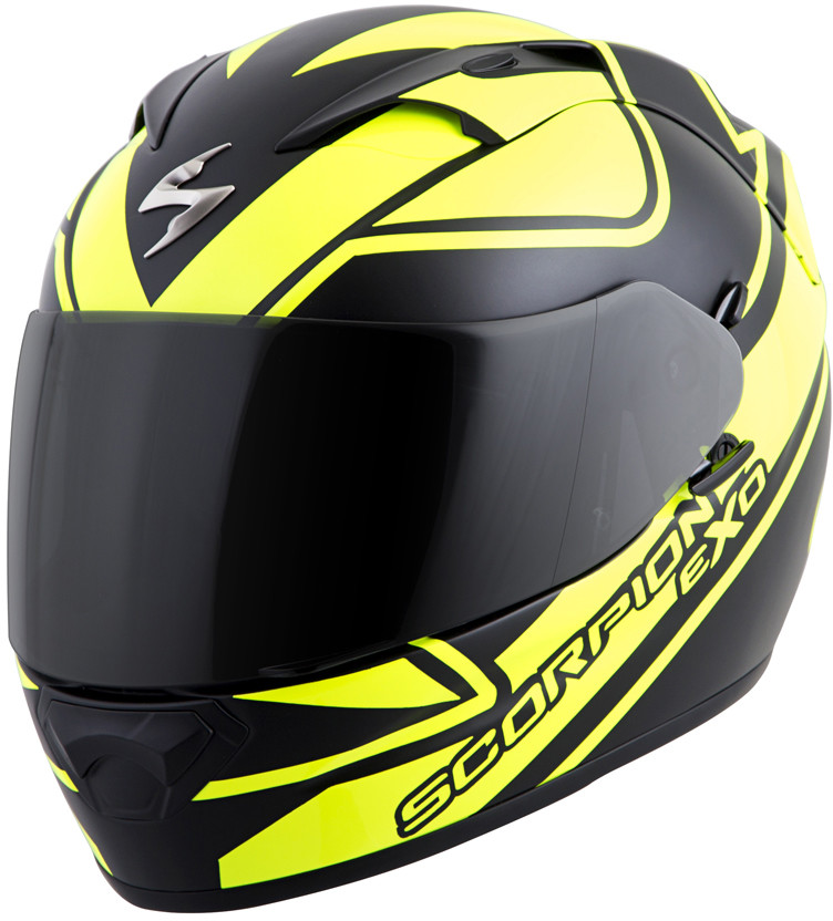 Scorpion EXO-T1200 Full Face Motorcycle Helmet w/Sun visor and Clear Faceshield