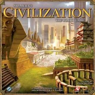 Sid Meiers Civilization The Board Game - Civilizations Game