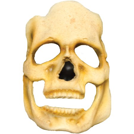 Skull Prepainted Foam Latex Prosthetic Adult Halloween Accessory (Foam Latex Halloween Costumes)