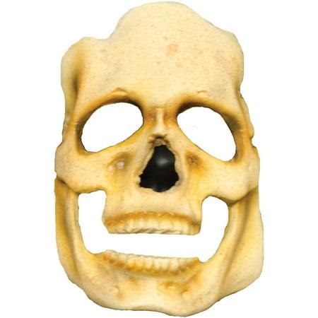 Skull Foam Latex - Skull Prepainted Foam Latex Prosthetic Adult Halloween Accessory