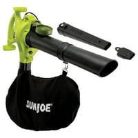 Sun Joe SBJ603E 3-in-1 Electric Blower | 240 MPH | 13 Amp | Vacuum | Mulcher