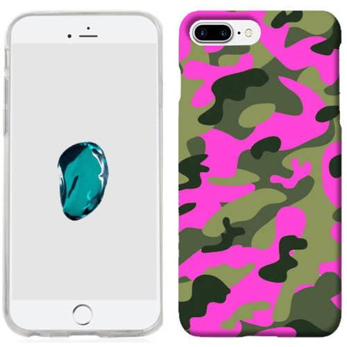 Mundaze Pink Camo Phone Case Cover for Apple iPhone 7 Plus