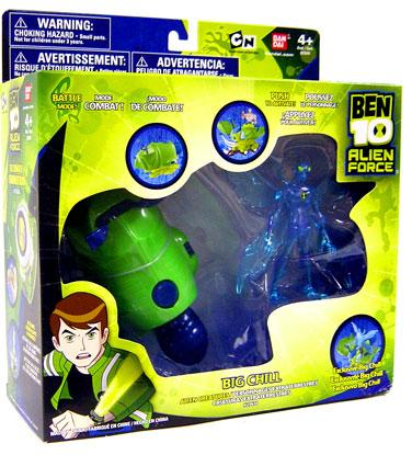 Ben 10 Alien Force Alien Creatures Big Chill Action Figure Set [Clear] by