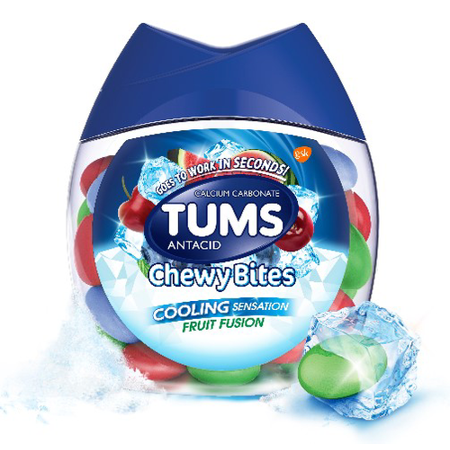 Tums Chewy Bites with Fast Cooling Sensation Antacid