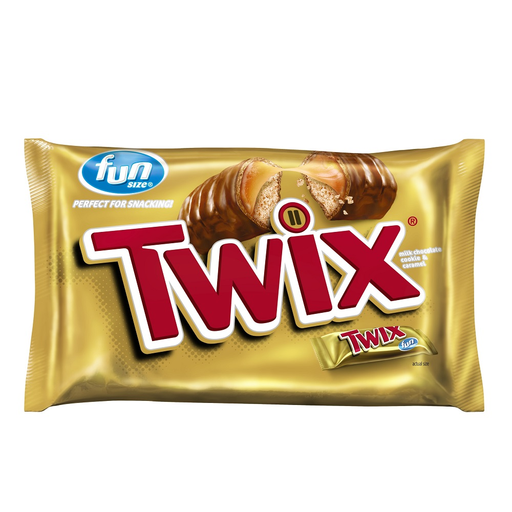 Twix, Caramel Fun Size Chocolate Cookie Halloween Candy Bar, 20.62 Oz