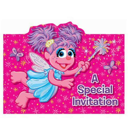 Abby Cadabby Invitations w/ Envelopes (8ct)