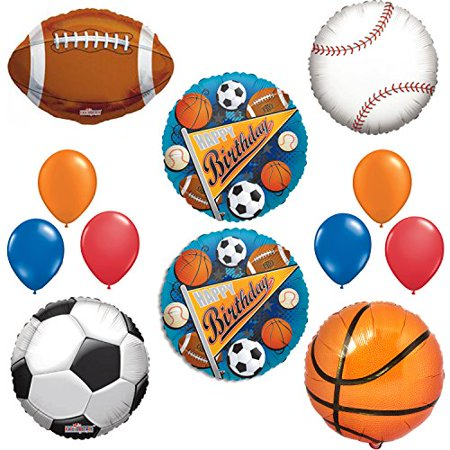 Sports Happy Birthday Balloon Decoration Kit