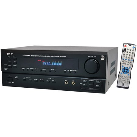 Pyle PT588AB 5.1-Channel Home Receiver with HDMI and Bluetooth