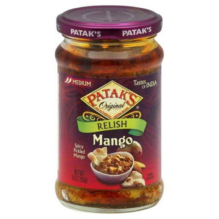 Patak Mango Relish - (Price/case)Patak's Relish - Mango - Mild - Case of 6 - 10 oz