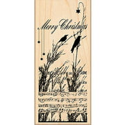 """Penny Black Mounted Rubber Stamp, 2.5"""" x 5.5"""", Nature's Choir"""