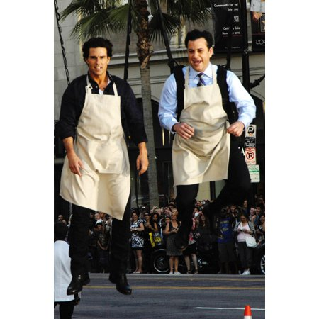 Tom Cruise Jimmy Kimmel At Talk Show Appearance For Jimmy Kimmel Live Hollywood Blvd Los Angeles Ca June 25 2010 Photo By Michael GermanaEverett Collection Celebrity