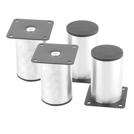 Home School Stainless Steel Furniture Cabinet Sofa Bed Table Chair Leg Feet 4pcs