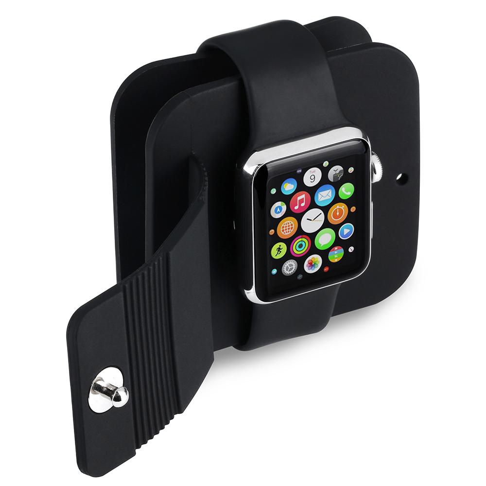 Apple Watch Charging Wallet/ Charge Holder/ Charge Dock/ Compatible with all Apple Watch/Sport/Edition(38mm & 42mm)