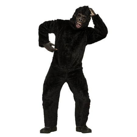 Gorilla Men's Costume, Brown - Youth Gorilla Costume