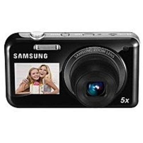 Samsung DualView EC-PL120ZBPBUS 14.2 Megapixels Digital Camera - (Refurbished)
