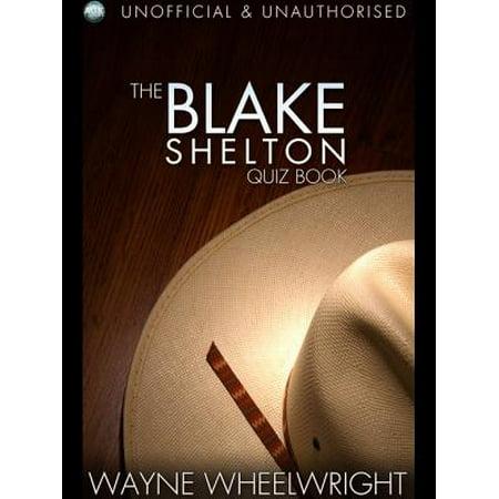 The Blake Shelton Quiz Book - eBook - Blake Shelton Halloween