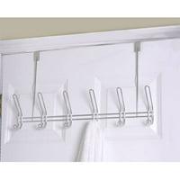 Over-The-Door Hanger 6-Hook