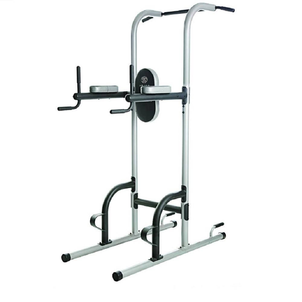 Golds Gym Xr 109 Power Tower With Push Up Pull Up And Dip