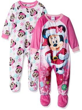 63bd326c5af4 Toddler Girls One-piece Pajamas - Walmart.com