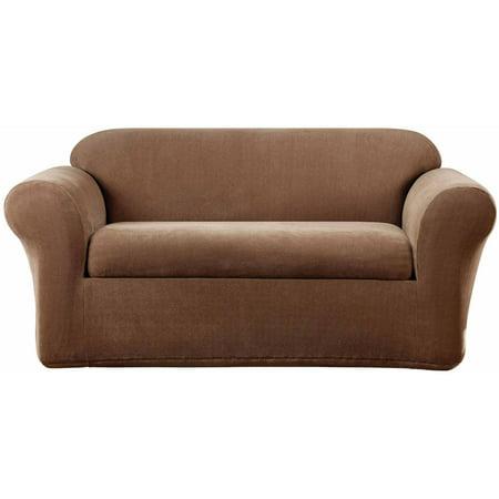 Phenomenal Sure Fit Stretch Metro Separate Seat Loveseat Slipcover Walmart Com Short Links Chair Design For Home Short Linksinfo