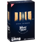 Nabisco Even Thinner Wheat Thins Snacks, 8.5 Oz.