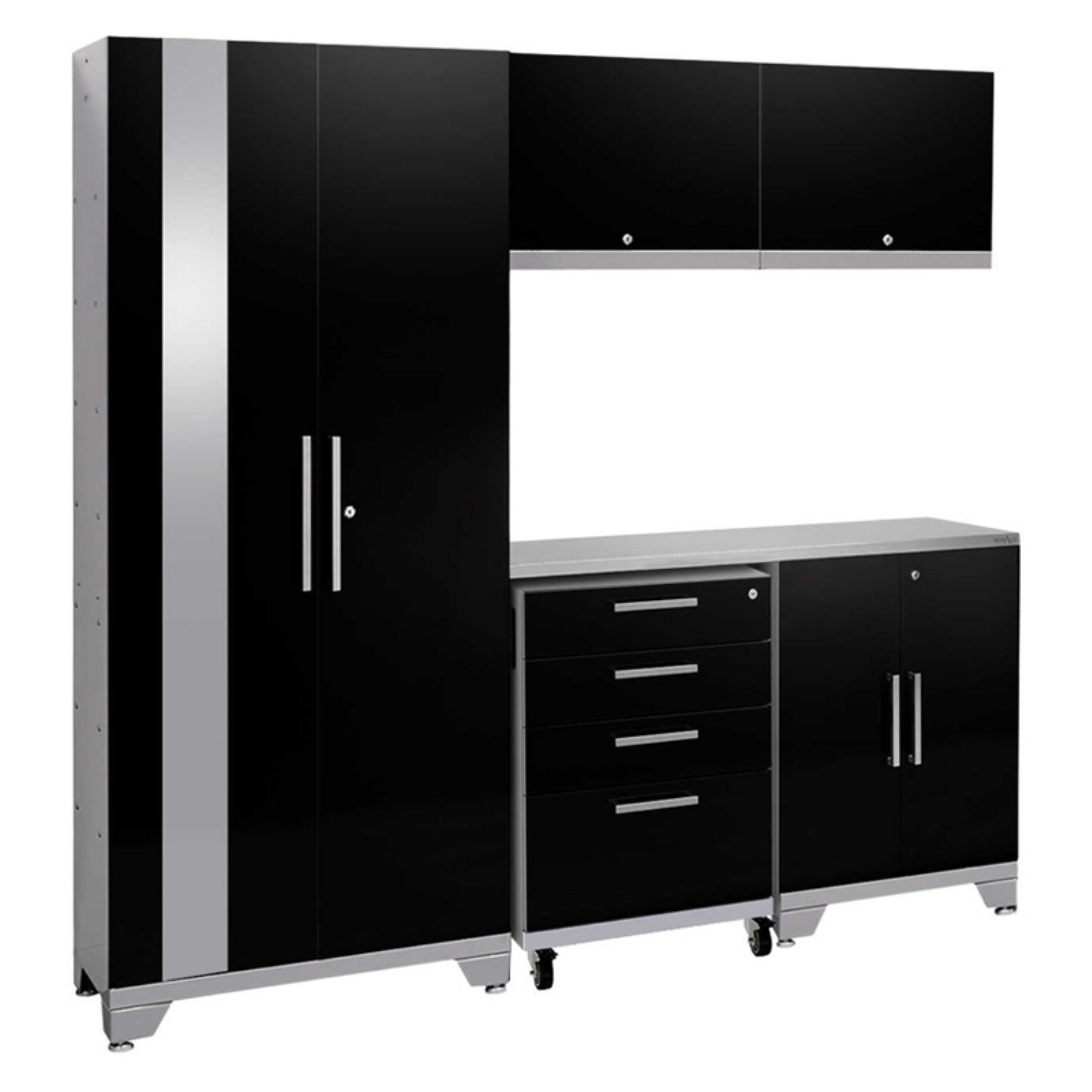 NewAge Products Performance 2.0 6 Piece Garage Cabinet System