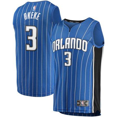 Chuma Okeke Orlando Magic Branded Youth 2019 NBA Draft First Round Pick Fast Break Replica Jersey Blue - Icon Edition ()