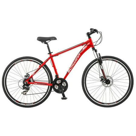 """Schwinn Mens GTX-2 28"""" Dual Sport Hybrid Bike - Red"""