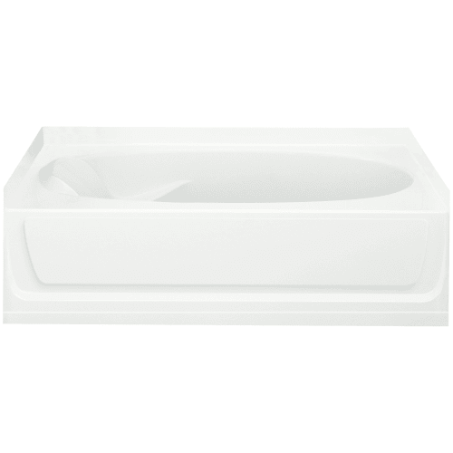 "Sterling 71101129 Ensemble 60"" x 36"" Vikrell Soaking Bathtub for Alcove Installa"