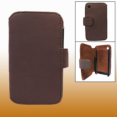 Iphone 3g Holster - For iPhone 3G Faux Leather Wallet Cover Holster New