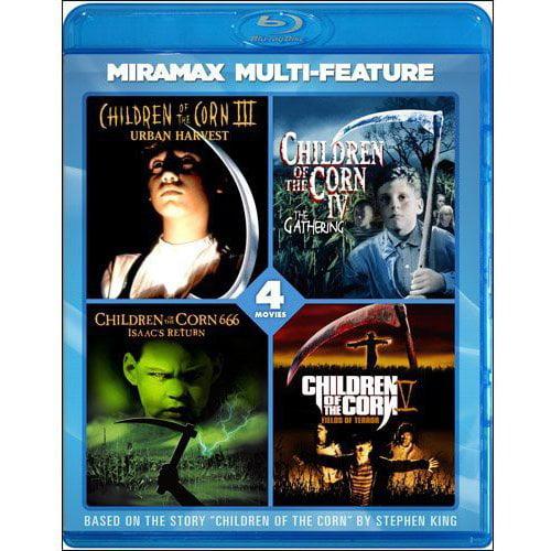 Children Of The Corn 4 Film Series: Urban Harvest / The Gathering / Fields Of Terror / 666: Isaac's Return (Blu-ray) (Widescreen)