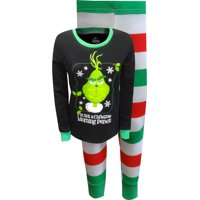 Dr. Seuss Grinch Not A Christmas Morning Person Ladies Pajamas