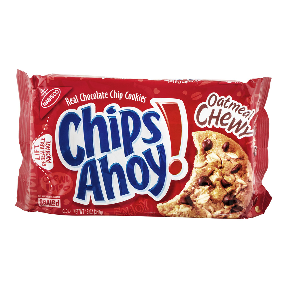 Nabisco Chips Ahoy! Chocolate Chip Cookies Oatmeal Chewy, 13.0 OZ