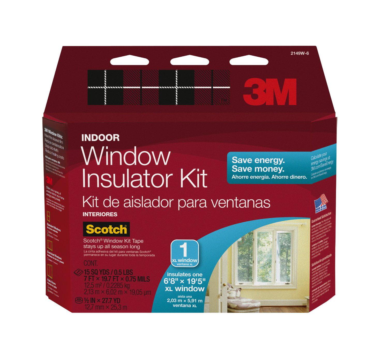 Indoor Window Insulation Kit