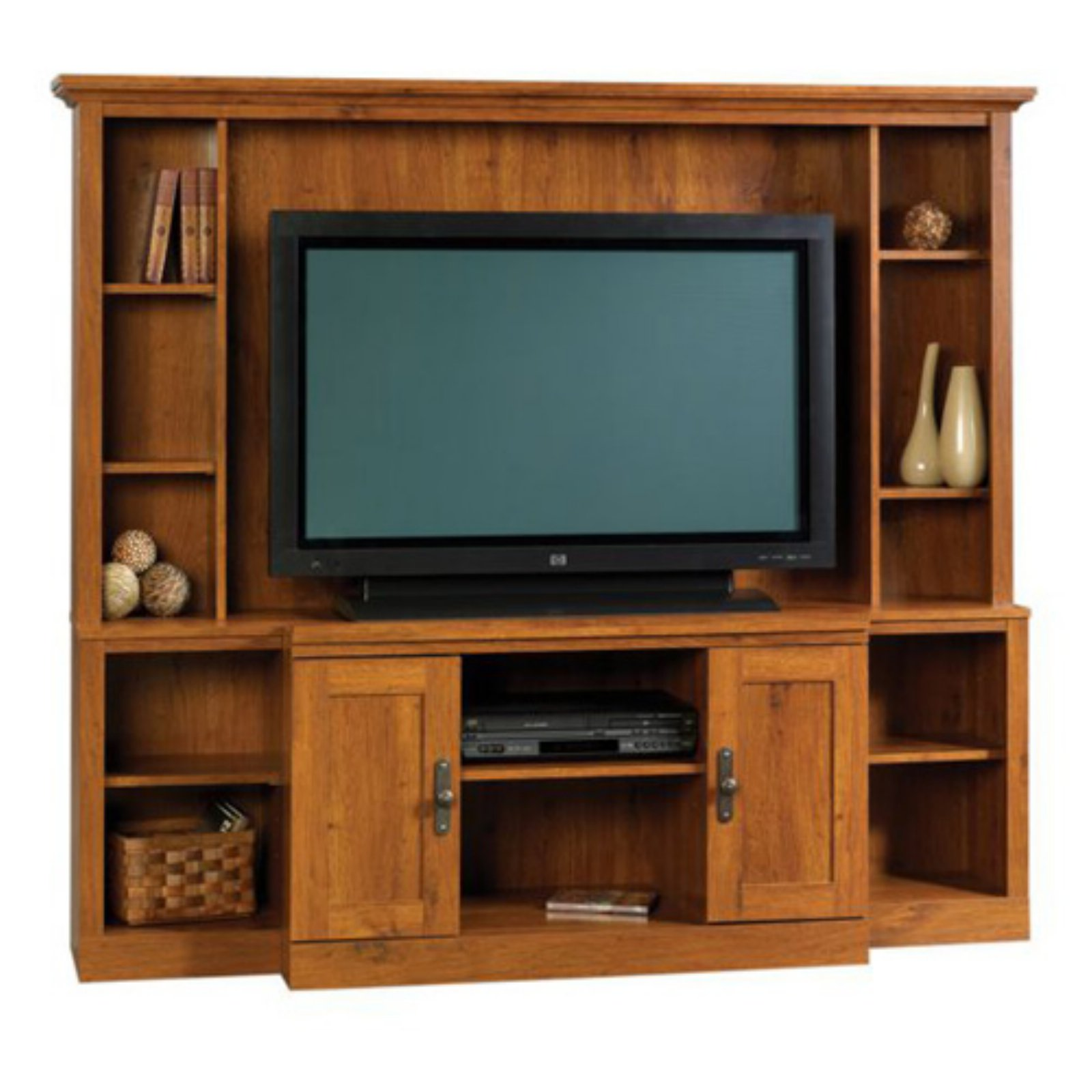 "Sauder Harvest Mill Home Theater for TVs up to 47"", Abbey Oak Finish"