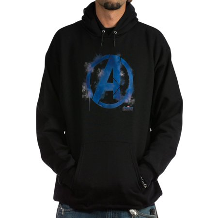 CafePress - Avengers Endgame Blue Logo - Pullover Hoodie, Classic, Comfortable Hooded Sweatshirt Blue Classic Logo Hoody Sweatshirt