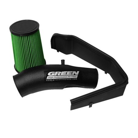 Green Filter 05-07 Chevy Colorado 3.5L L5 Cold Air Intake (Best Cold Air Intake For 2019 Chevy Silverado 1500)