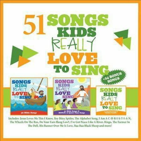 Kids Choir   51 Songs Kids Really Love To Sing 2014  3Cd