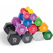 CAP Barbell Vinyl-Coated Dumbbell, Single