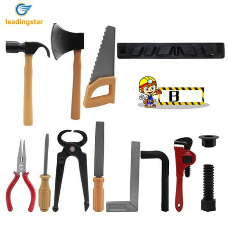 Plastic Building Tools Set Children Role-playing Construction Worker Suit for Boys and girls Random (Sustainable Construction Green Building Design And Delivery)