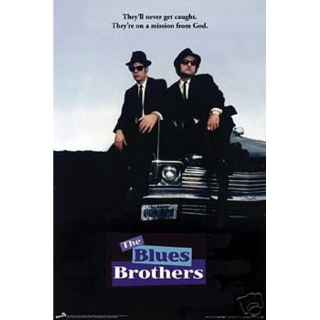 Blues Brothers - Belushi Akroyd Hood Sit Movie Poster New 24x36 (Paul Butterfield Blues Band Poster)