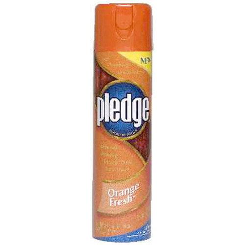 Johnson Wax Orange Pledge Cleaning Wax