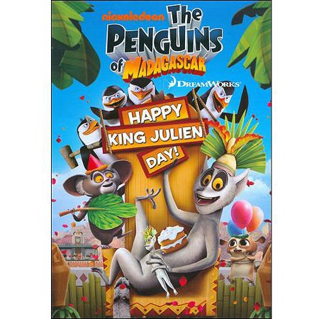 Penguins of Madagascar: Happy King Julien Day [DVD]