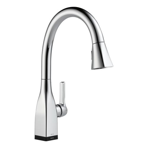 Delta 9183T-DST Mateo Pull-Down Kitchen Faucet with On Off Touch Activation and Magnetic... by Delta